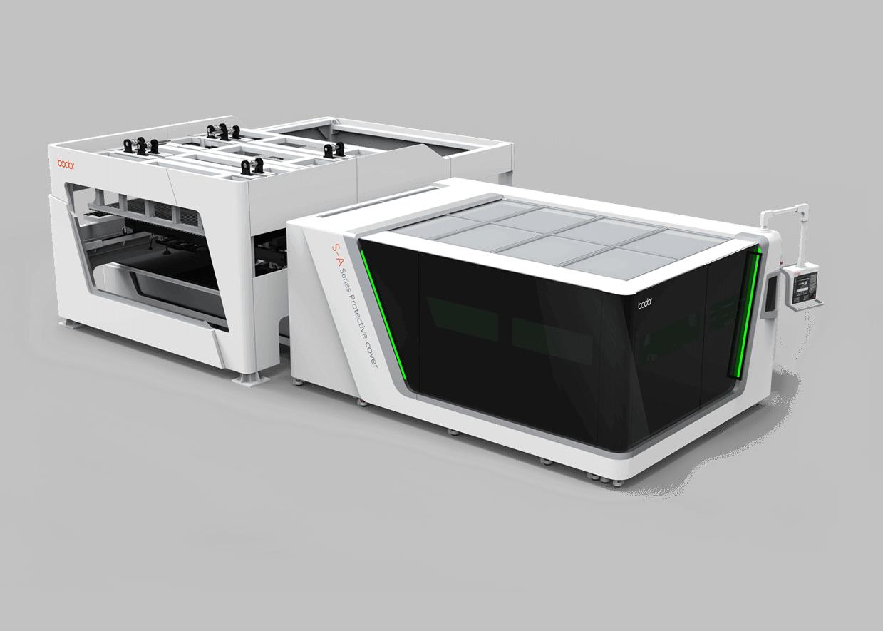 Фото - Высокомощный лазерный резак с автоматической загрузкой S-А серии