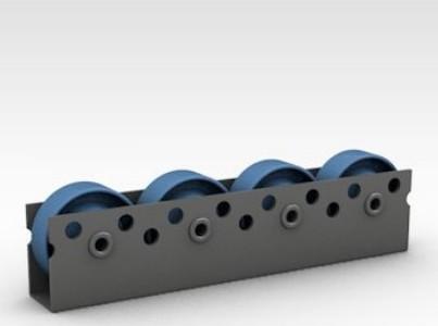 Фото - Роликовые дорожки Тип 723 Профиль оцинкованной стали