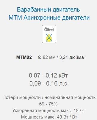 Мотор-Барабаны серии MTM